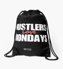 Hustlers Love Mondays Drawstring Bag