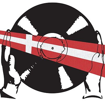 Danish Flag Vinyl by McFrys