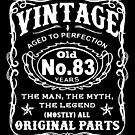 Vintage Aged To Perfection 83 Years Old by wantneedlove