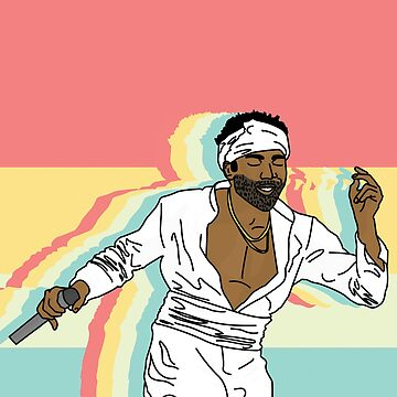 "Childish Gambino ""Summer"" by sebphillips"