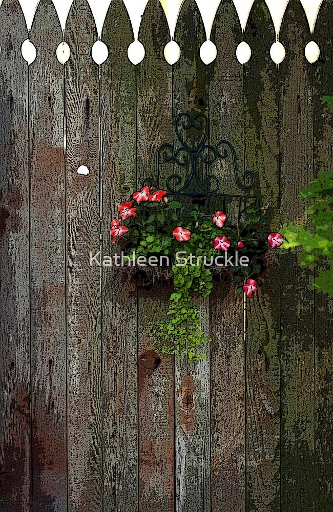 Wooden Gate by Kathleen Struckle
