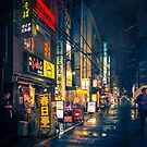 Film Noir Tokyo by Guillaume Marcotte