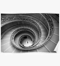 Michelangelo's stairs Poster
