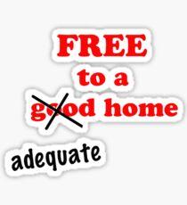 Free... Tee Sticker