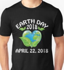 Earth day 2018 Shirt - support science save world Unisex T-Shirt