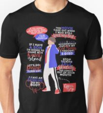 BTS Taehyung Zitate Slim Fit T-Shirt
