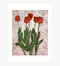 Tulips III Art Print
