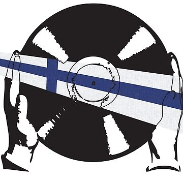 Finnish Flag Vinyl by McFrys