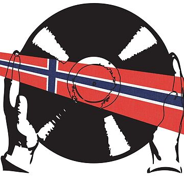 Norwegian Flag Vinyl  by McFrys