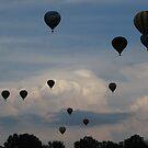 Hot air balloons by Dalmatinka