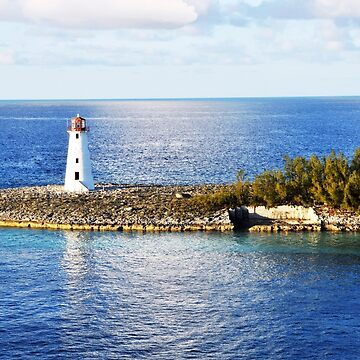 Bahamas, Lighthouse by erozzz