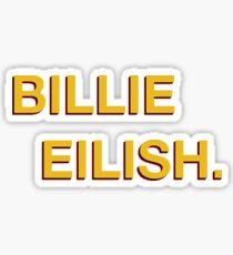 Billie Elish. Sticker