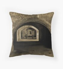 Fort Pickens V Throw Pillow