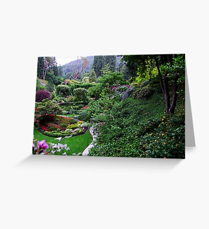 Sunken Garden No.1 Greeting Card
