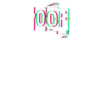 Oof Gaming T Shirt 3D / Trippy / Anaglyph by trippeh