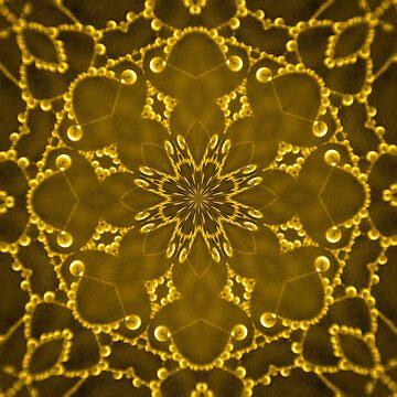 Jewels Kaleidoscope Gold by DAWNESROMEO