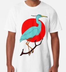 GREAT BLUE HERON Long T-Shirt