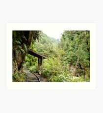 Charming Creek Railway Art Print