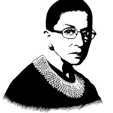 Ruth Bader Ginsburg: Bold Icon by shaggylocks
