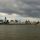 Cunard Queen Elizabeth visits Liverpool by therightprofile