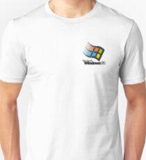 Windows 95 - Small Logo Unisex T-Shirt