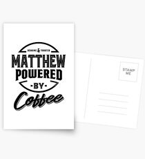 Matthew Tees Postcards