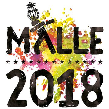Malle 2018 Mallorca Party Colorful by woweffect
