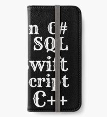 Coding iPhone Wallet/Case/Skin