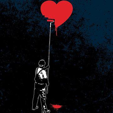 Heart Painter Graffiti Love by GrandeDuc