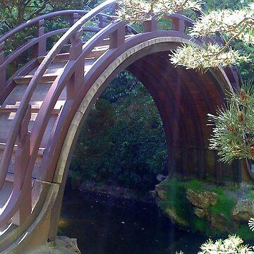 Japanese Tea Garden Bridge San Francisco by seacucumber