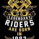 Legendary Riders Are Born In 1983 by wantneedlove