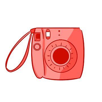 Camera Red by askbigink