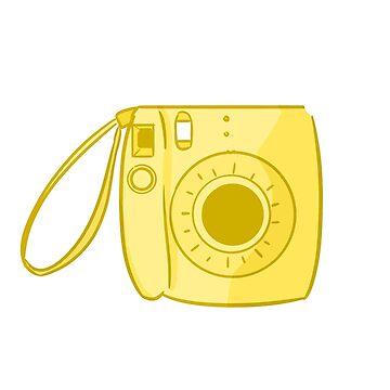 Camera Yellow by askbigink