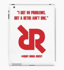 Roudy Ronda Rousey UFC 190 WALK IN DESIGN iPad Case/Skin