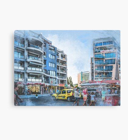 Bulgaria city 2 #bulgaria #sunnybeach Canvas Print