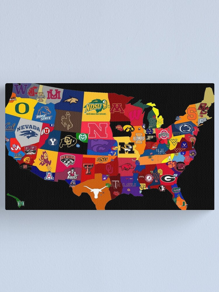 Alternate view of College Country Canvas Print