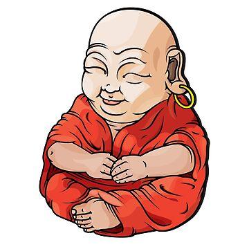 Baby Buddha  by natsmith1