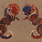 Geri  and Freki by Unita-N