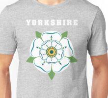 Yorkshire White Rose Unisex T-Shirt