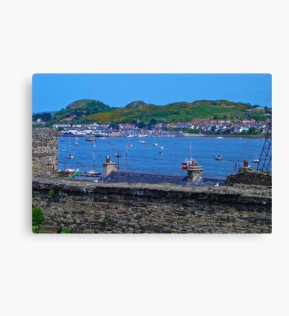 Conwy Harbour - North Wales Canvas Print