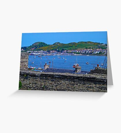 Conwy Harbour - North Wales Greeting Card