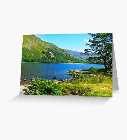 Snowdonia National Park -North Wales Greeting Card