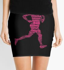 World Health day Shirt Fitness woman running sport Mini Skirt