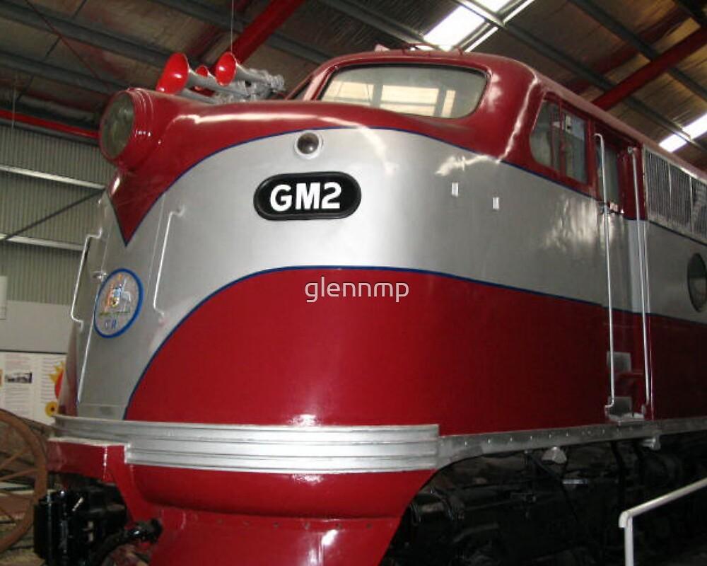 GM2  Diesel Engine...Port Adelaide Train Museum by glennmp