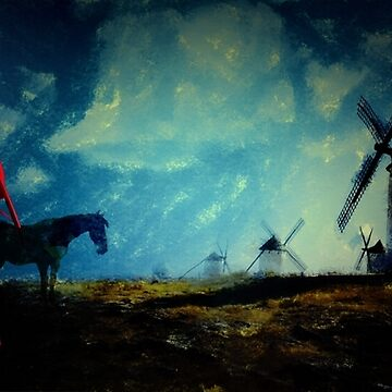 Tilting at Windmills  by GalenValle