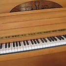 Tickling the Ivories - Klaviertastatur von BlueMoonRose