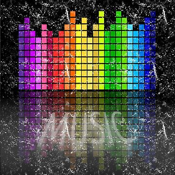 Music graphic faded style by cooltdesigns