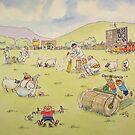 Village Cricket by Martin Williamson (©cobbybrook)