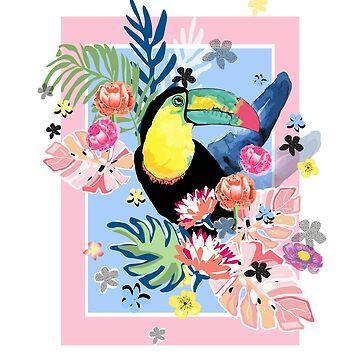 Toucan Love by muktalata-barua
