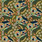 Gypsy Wagon Pattern by musingtree